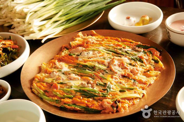 東萊奶奶大蔥煎餅 來源:韓國觀光公社