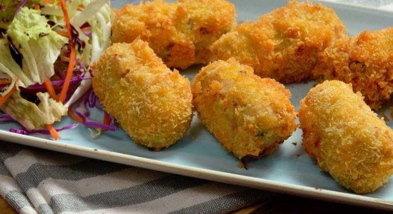 小島葡國餐廳 美味的炸馬介休球 來源:官網