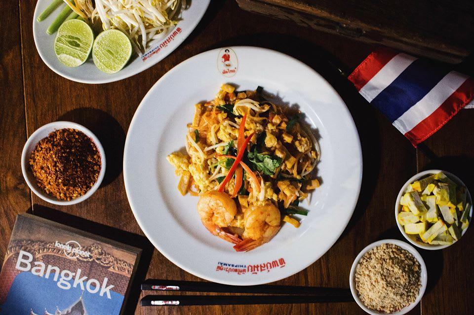 泰式炒麵,圖片取自Thip Samai Pad Thai FB粉絲團。