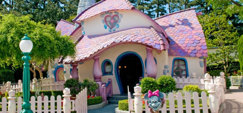 迪士尼樂園,美妮的家,圖片取自:迪士尼官網。