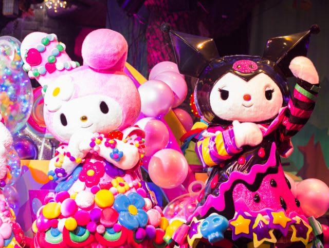 奇蹟禮物大遊行,圖片取自日本東京三麗鷗彩虹樂園官網。