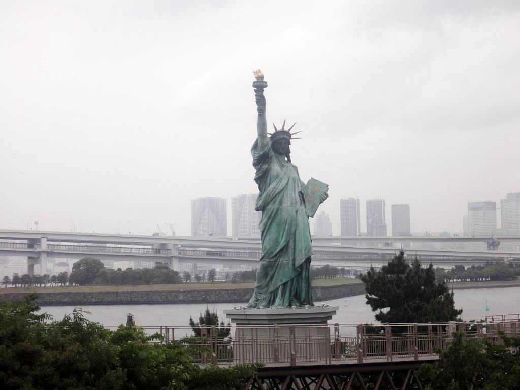 台場-御台場海濱公園-自由女神像