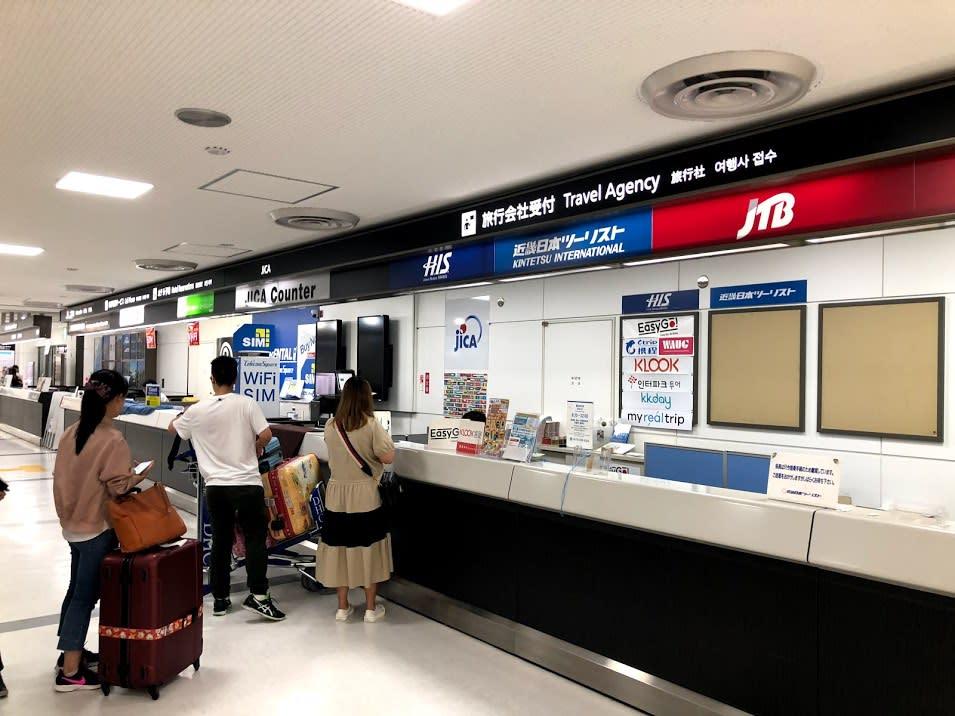 成田機場出境大廳領票櫃檯| Photo Credit: Zach Huang