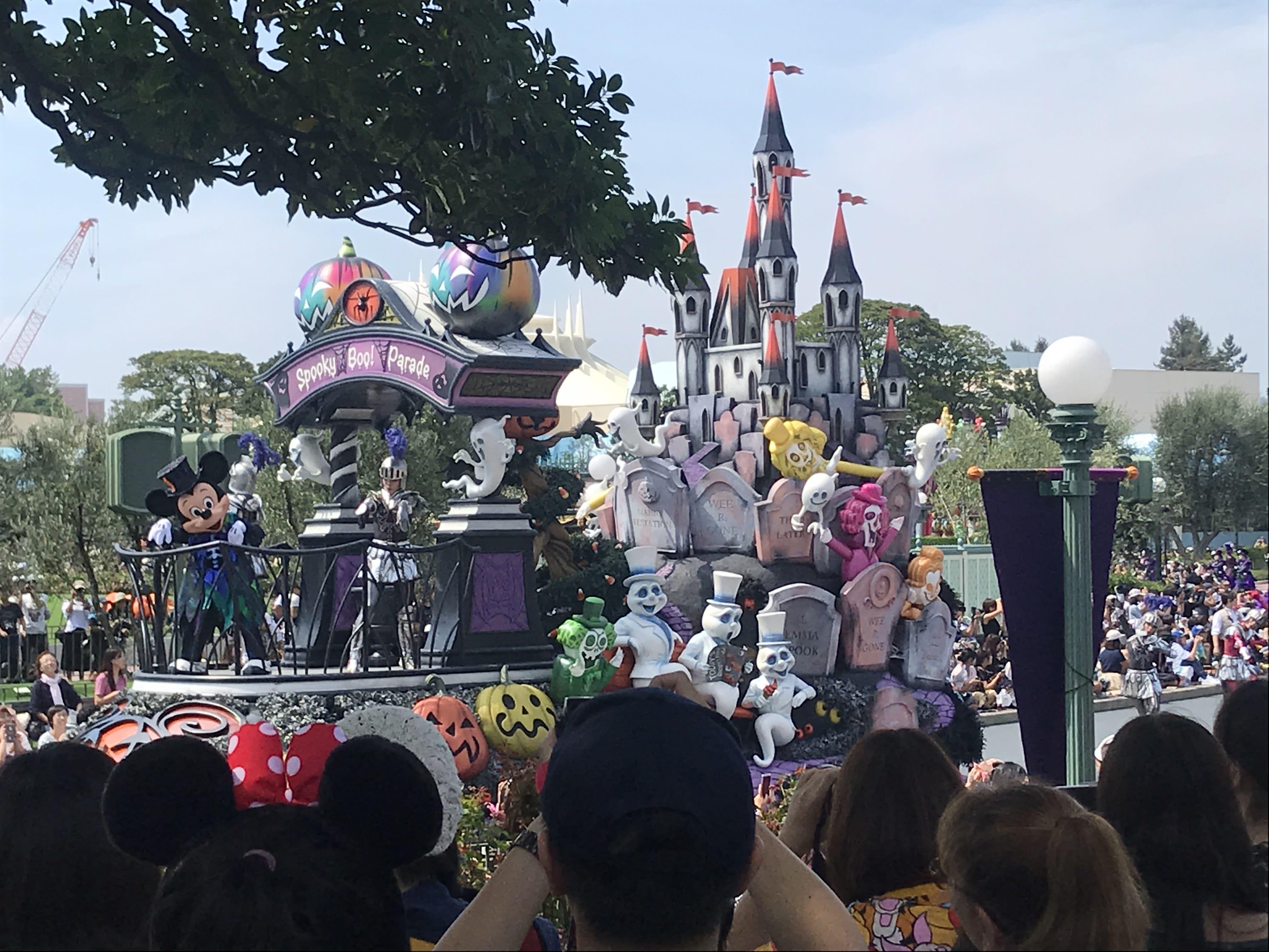 迪士尼樂園,萬聖節遊行。