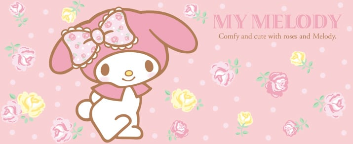 My Melody,圖片取自日本東京三麗鷗彩虹樂園官網。