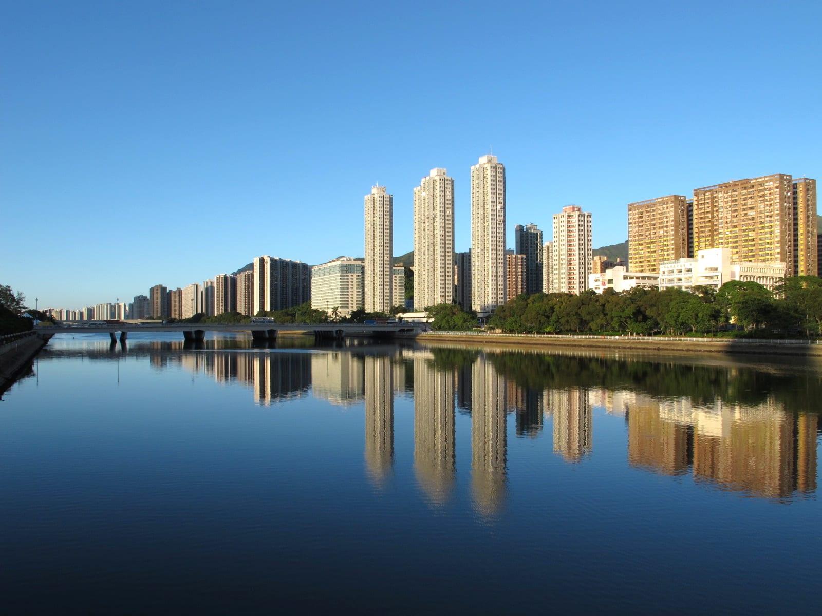 單車遊城門河,圖片取自wikimedia。