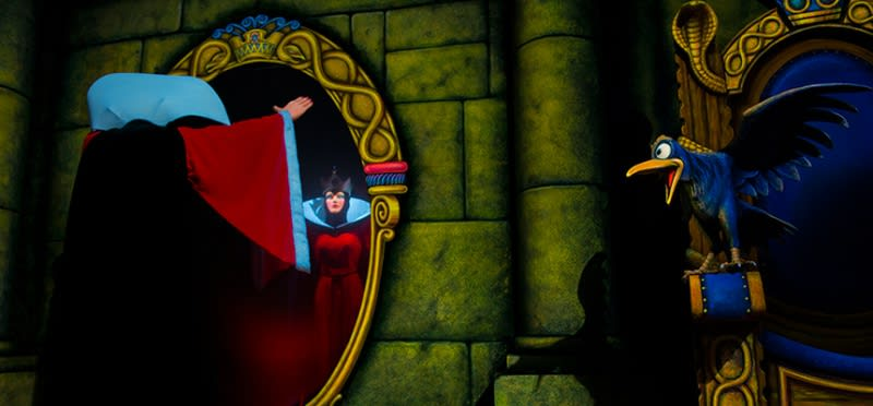 迪士尼樂園,白雪公主冒險旅程,圖片取自:迪士尼官方網站。