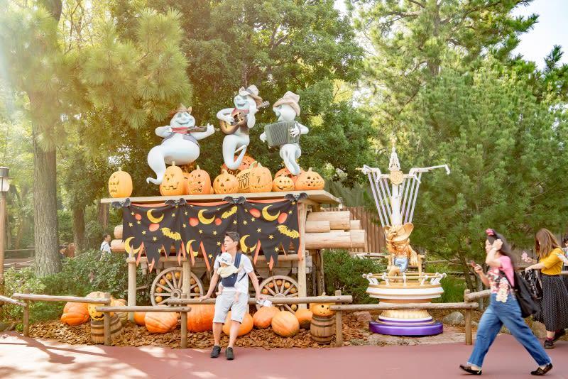 迪士尼樂園,南瓜頭。