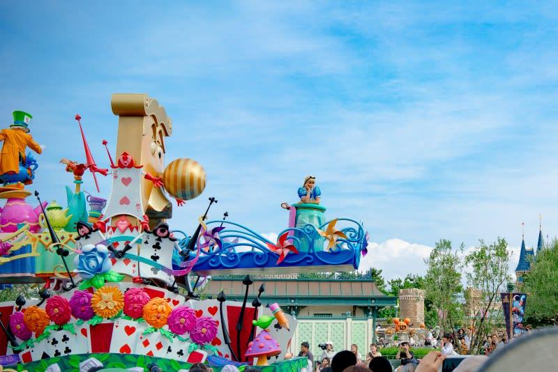 迪士尼樂園,35週年遊行。