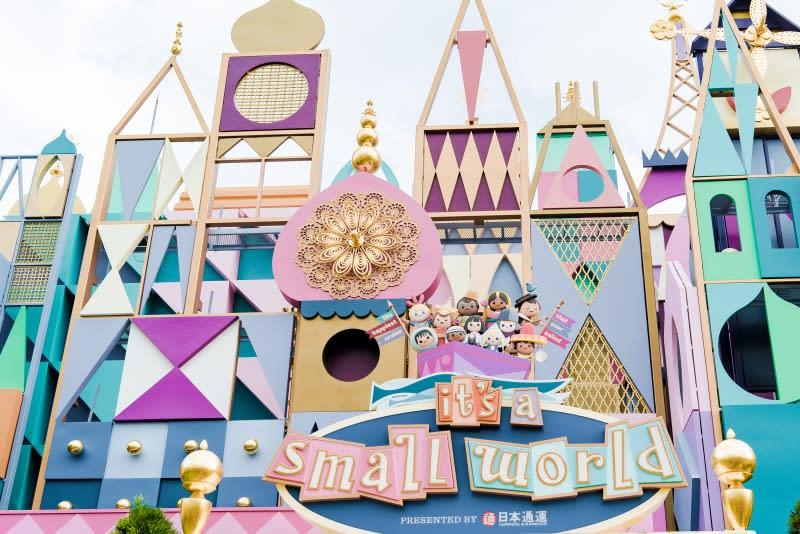 迪士尼樂園,小小世界。