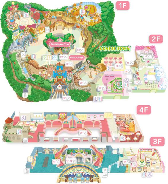 圖片取自日本東京三麗鷗彩虹樂園官網。