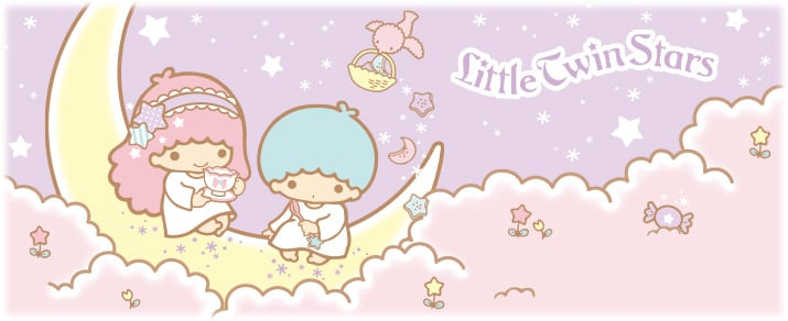 Little Twin Stars,圖片取自日本東京三麗鷗彩虹樂園官網。