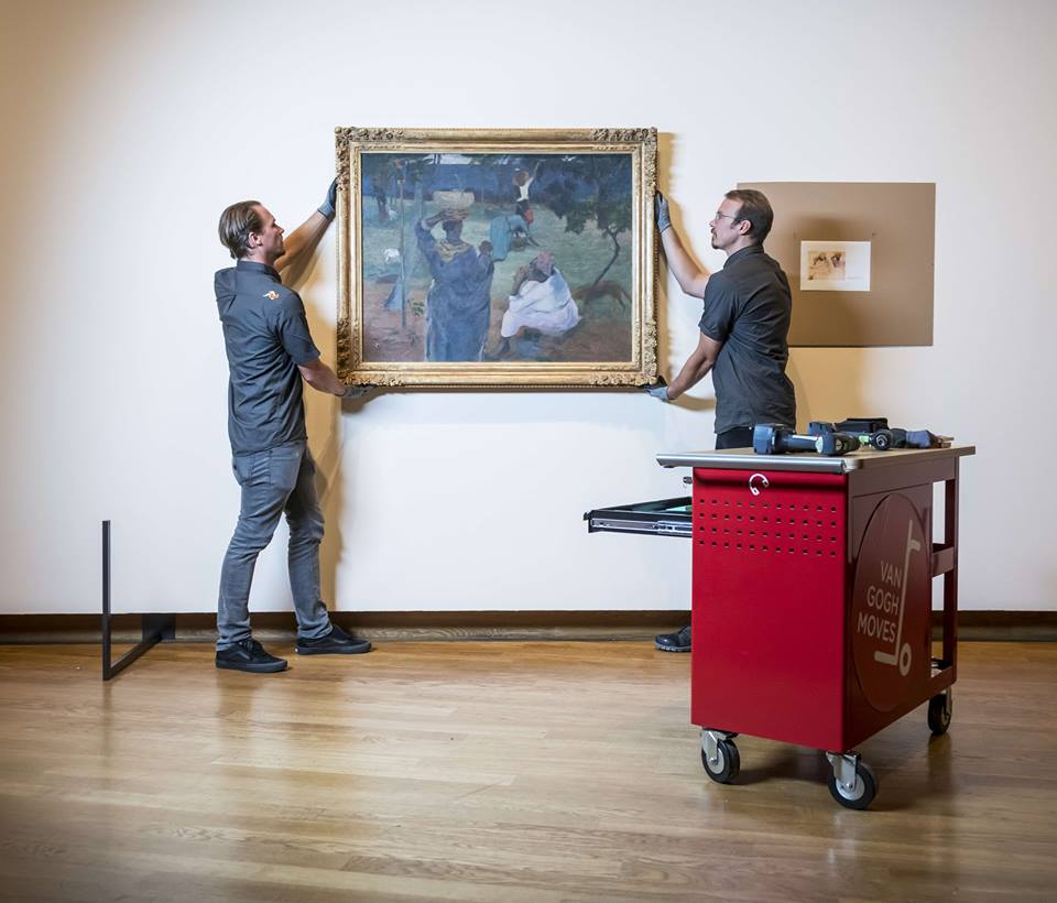 不定時推出新特展的梵谷博物館。來源:梵谷博物館臉書粉絲團。
