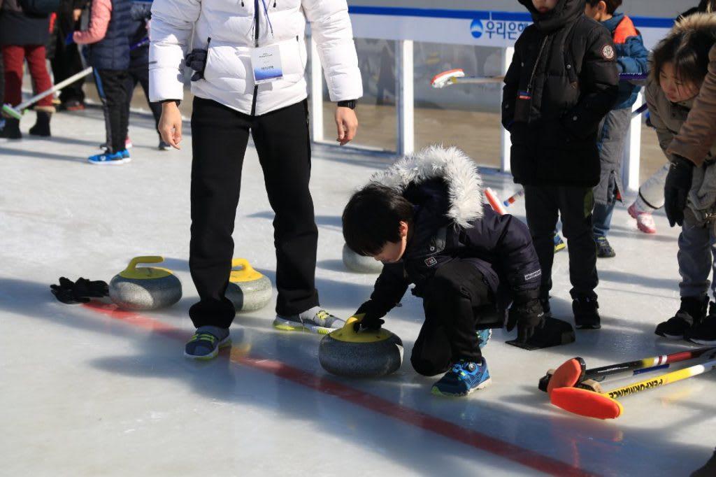 冰上體驗活動 來源:首爾廣場溜冰場