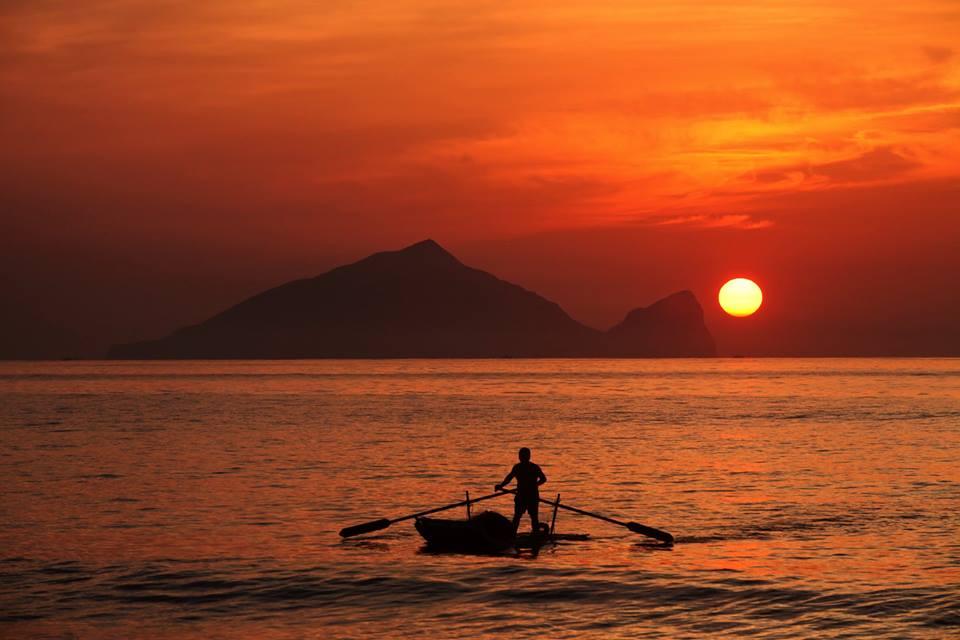 宜蘭龜山島,圖片取自東北角之友FB粉絲團。