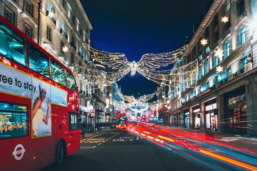 倫敦攝政街,圖片取自londonist.com。
