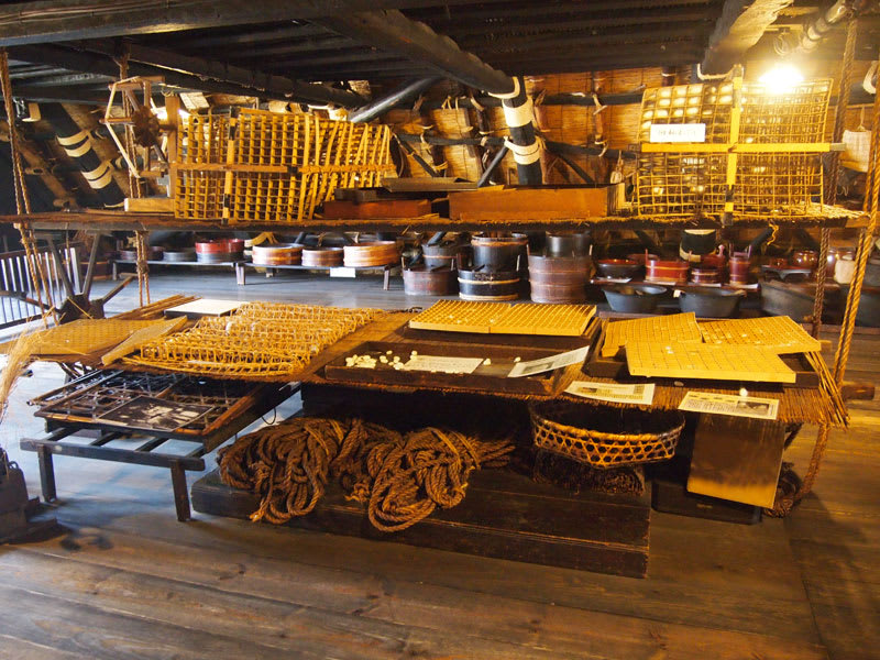 各種當時代的民生用品展示。(圖片取自ml.shirakawa-go.org)