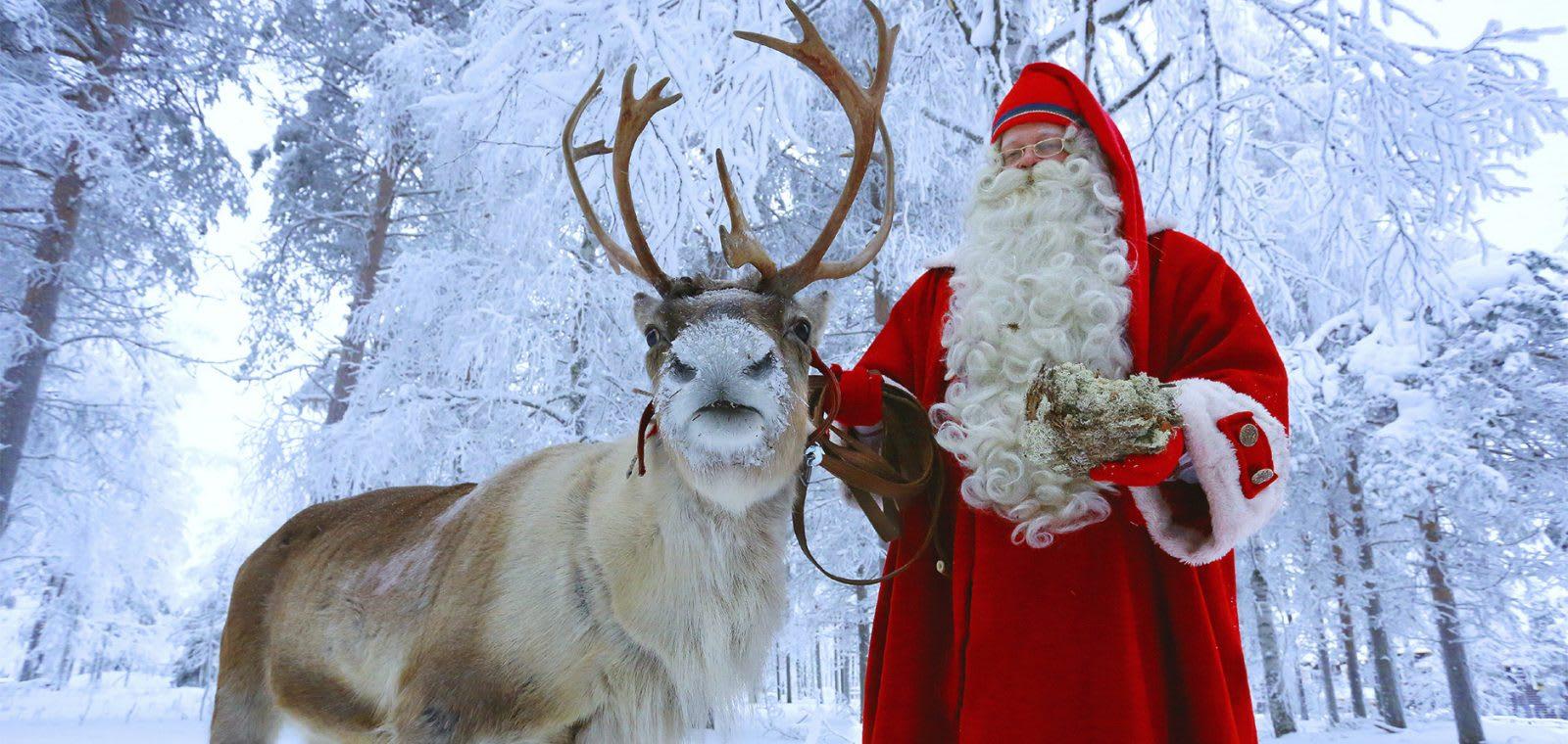 聖誕老人,圖片取自santaclausvillage.info。