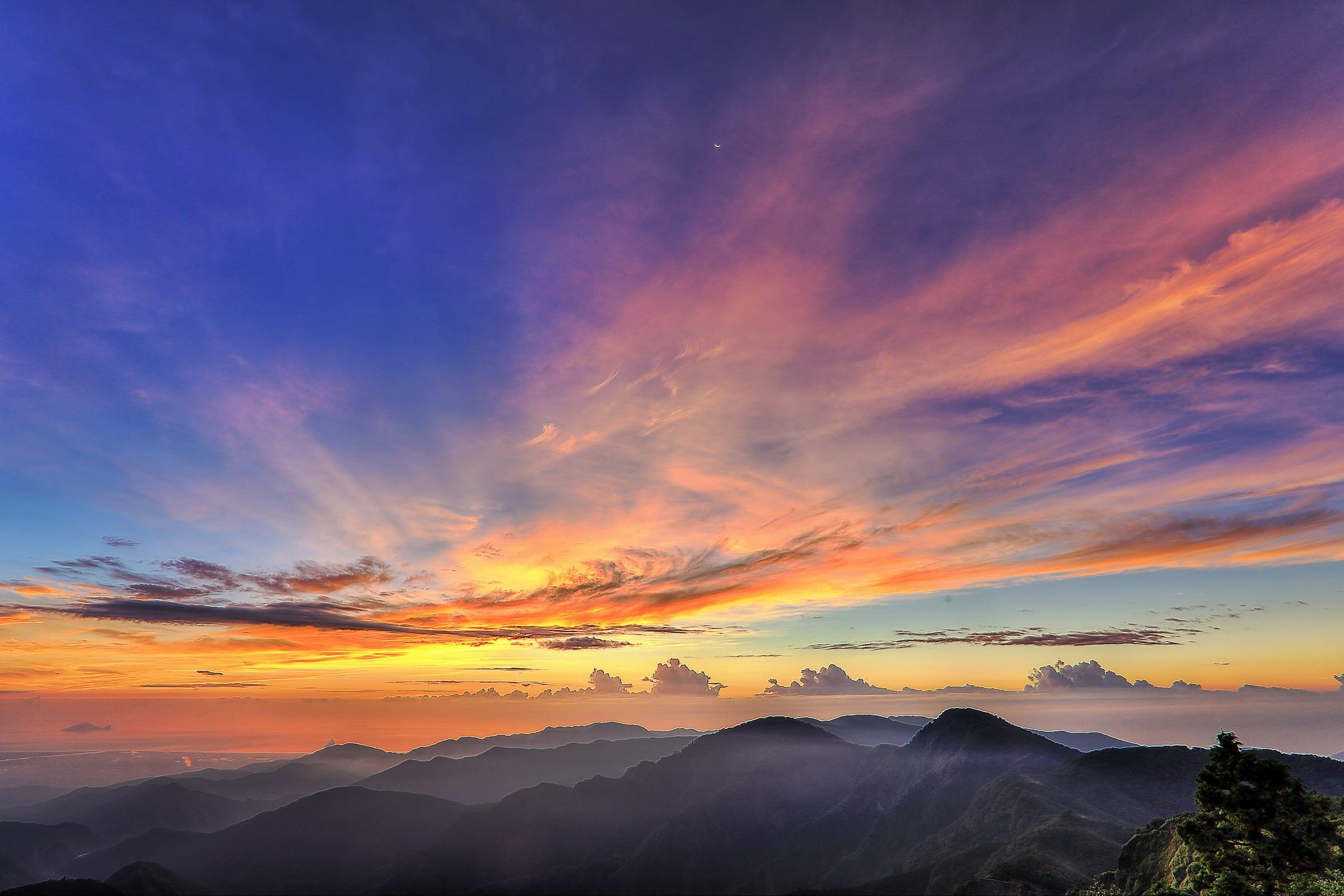 宜蘭太平山,圖片取自tps.forest.gov.tw。