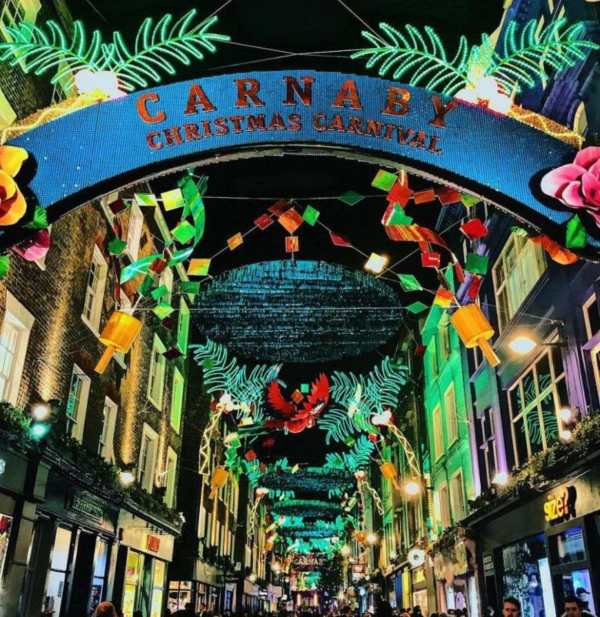 倫敦卡納比街,圖片取自www.pulse-london.com。