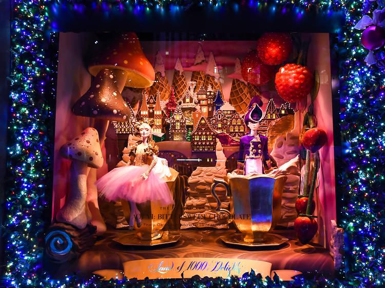 美國紐約聖誕折扣,圖片取自www.timeout.com。