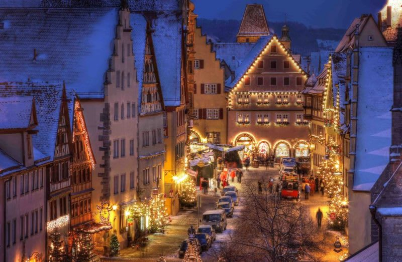 德國 羅騰堡,圖片取自www.varta-guide.de。