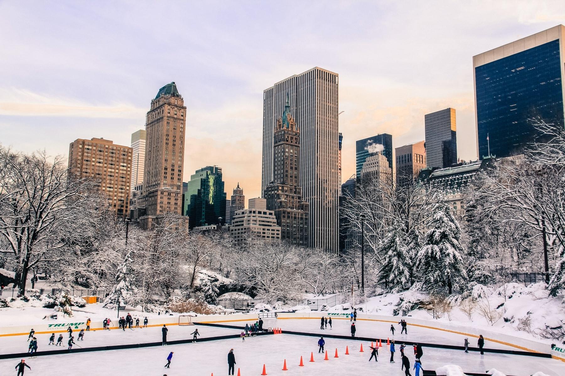 美國紐約中央公園,圖片取自www.weswap.com。