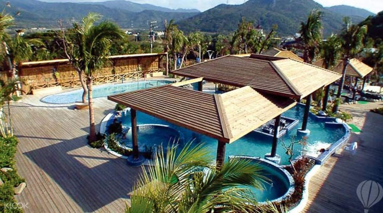 四重溪溫泉是台灣四大名湯之一。來源:KLOOK。