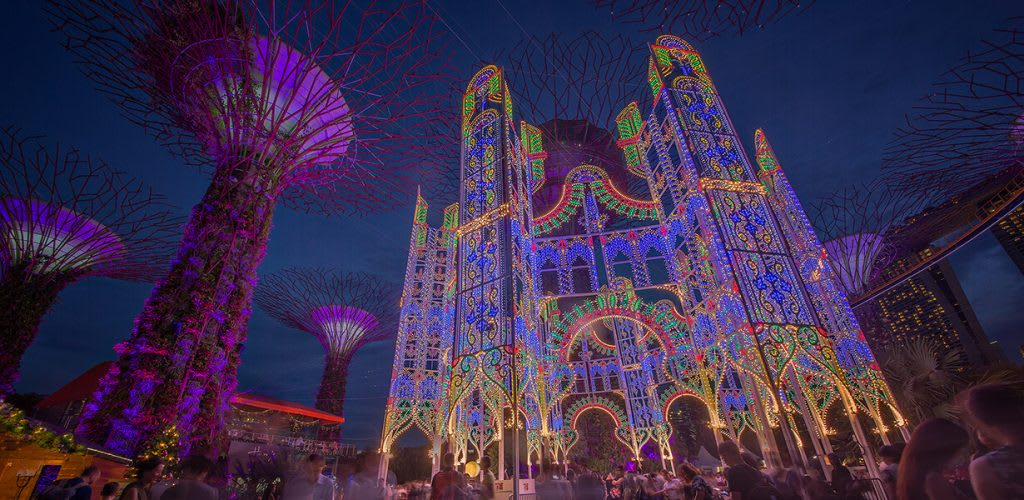 新加坡濱海灣花園聖誕仙境來源:www.christmaswonderland.sg/