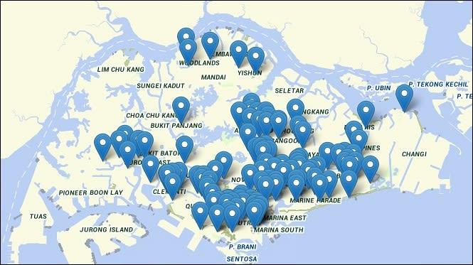 ▲ 新加坡熟食中心
