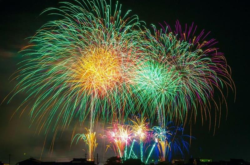 新年煙火(照片來源:@Pixabay)https://pixabay.com/