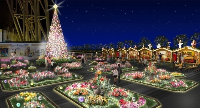 東京晴空塔聖誕點燈活動 來源:©TOKYO-SKYTREE