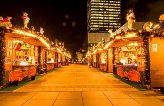 東京SKYTREE腳下的聖誕市集 來源:©TOKYO-SKYTREE
