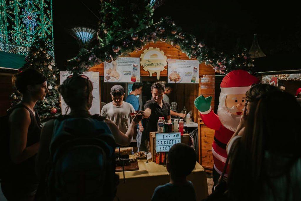 濱海灣花園聖誕仙境的聖誕市集 來源:www.christmaswonderland.sg/