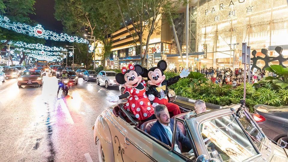 烏節路聖誕大街首次與迪士尼合作 來源:fb @orchardroad.sg