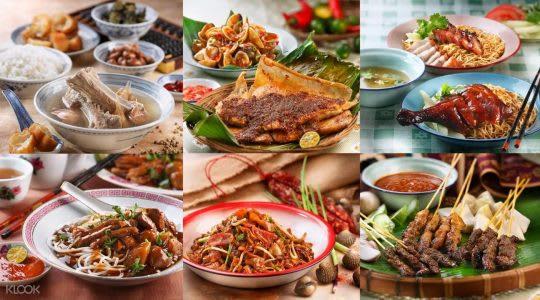 新加坡熟食中心裏頭隱藏著許多道地的美食,值得一試!