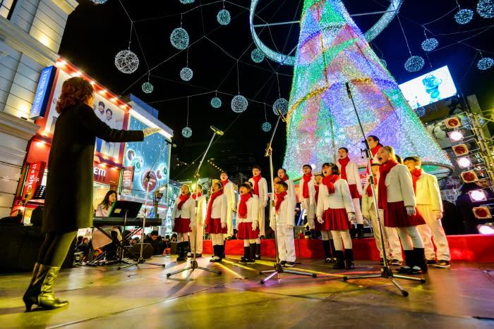 釜山聖誕樹文化節 來源:韓國觀光公社