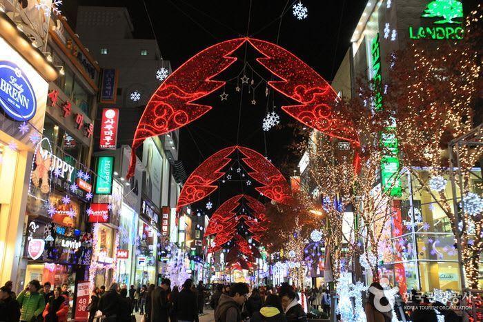 釜山聖誕樹文化節-來源:韓國觀光公社