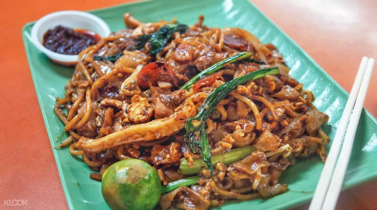 麥士威-濱海南美食-招牌炒粿條