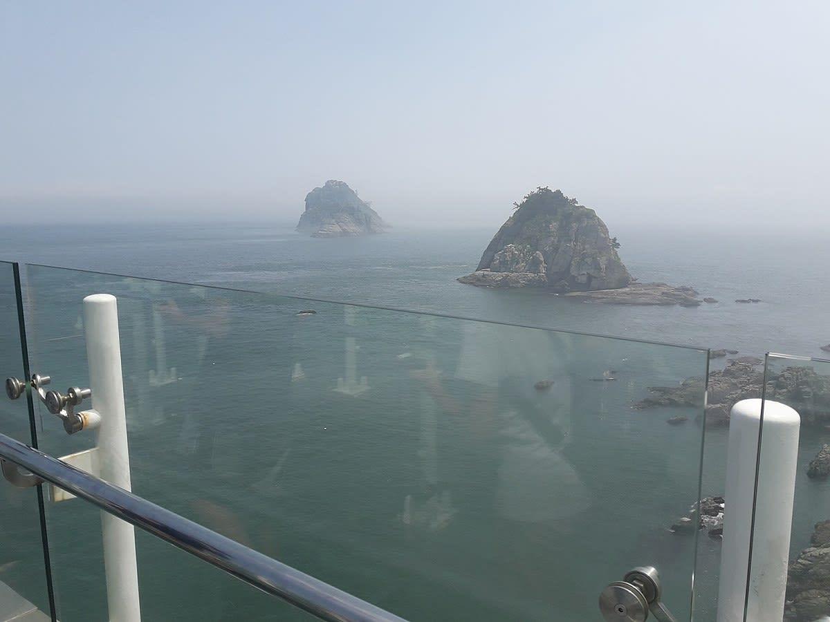 從天空步道看五六島|圖片來源:維基百科 https://reurl.cc/Kxqqj