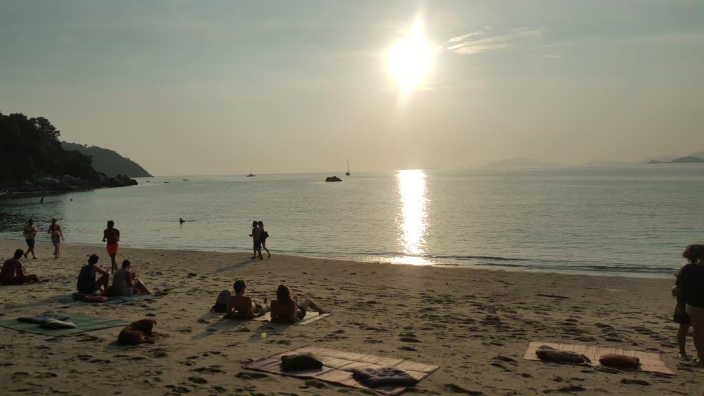 麗貝島日落海灘