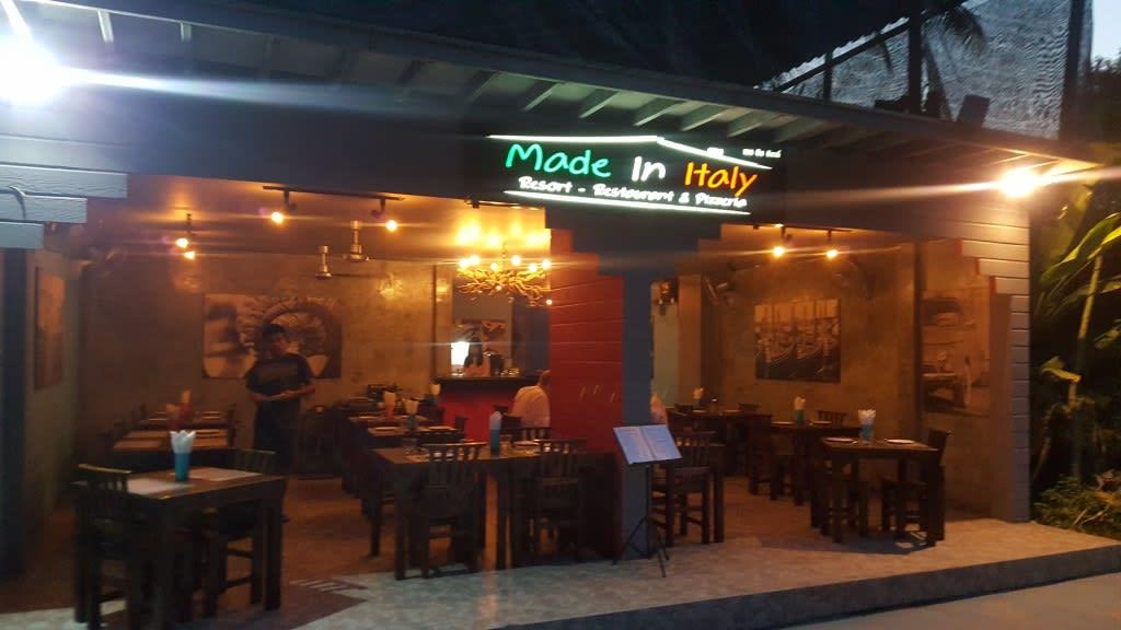 麗貝島步行街餐廳