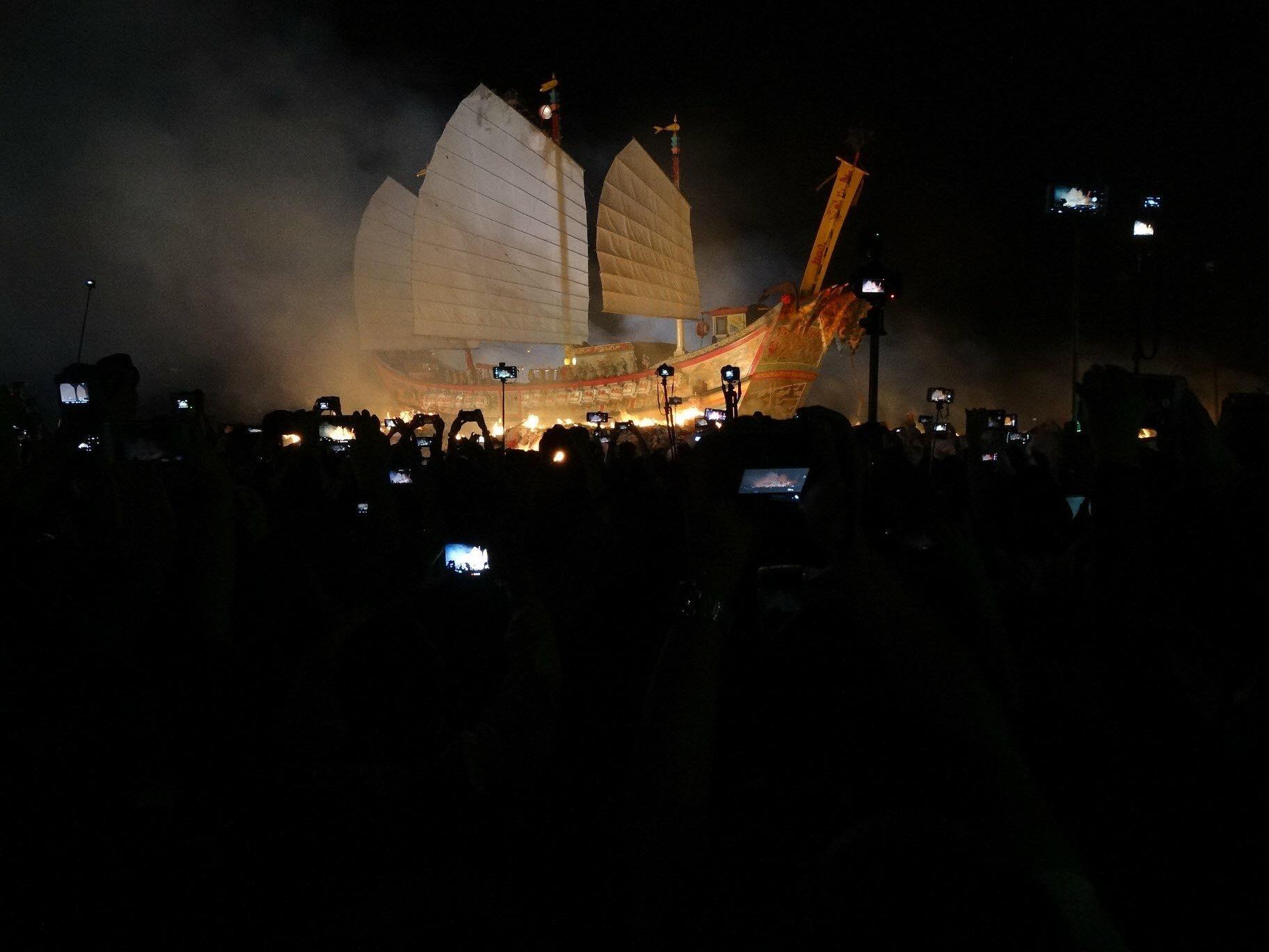 一生值得參與至少一回的王船祭。攝影:Rex。