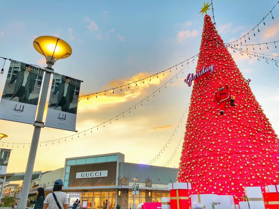 桃園華泰名品城聖誕村 來源:fb@GLORIA.OUTLETS