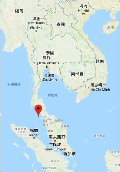 麗貝島位置