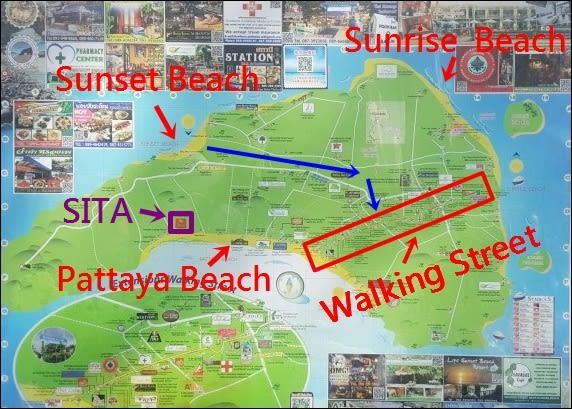麗貝島地圖