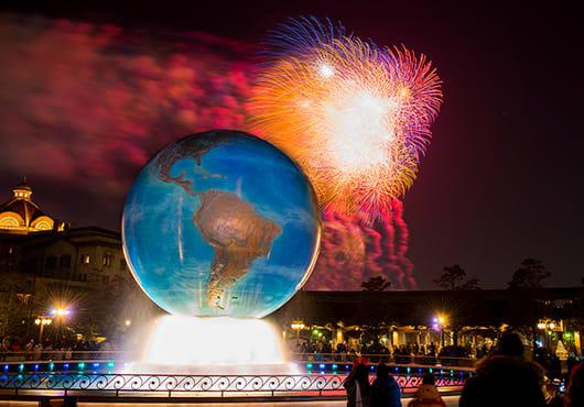 日本東京迪士尼 2019跨年 來源:官網