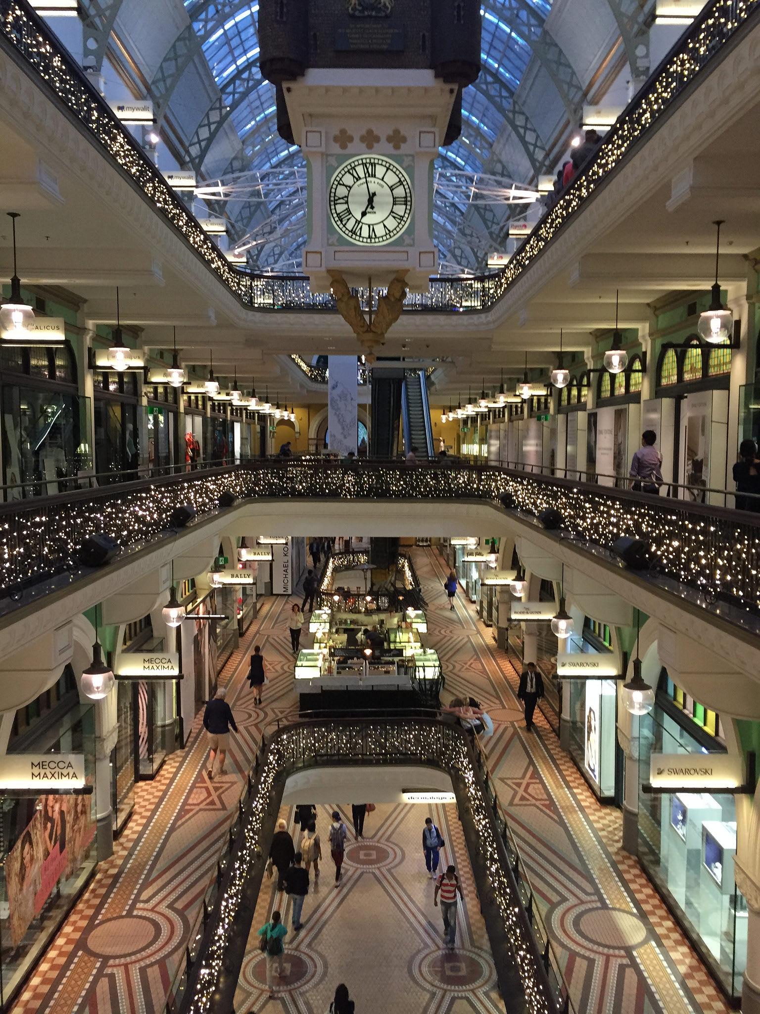 維多利亞女王購物中心,照片來源:Flickr 授權作者Simon-Sees