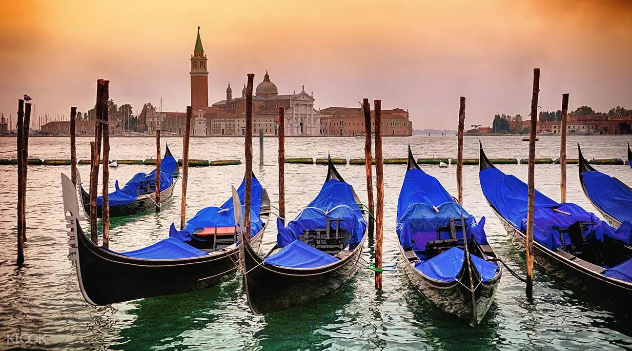 ▲ 貢多拉船是威尼斯特有的交通工具,一定要去體驗一下。