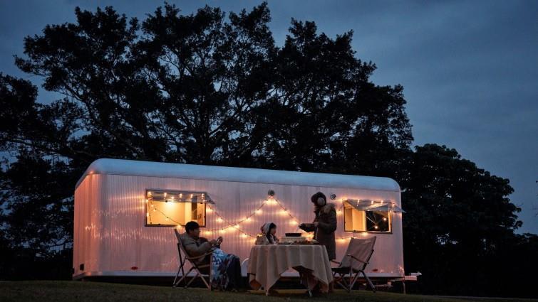得天露營車享受真正的五星級服務。相片來源:礁溪老爺飯店。